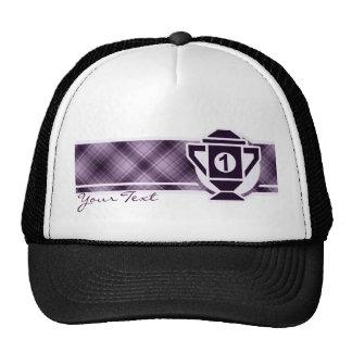 1r trofeo del lugar de la púrpura gorras de camionero