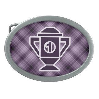 1r trofeo del lugar de la púrpura hebilla de cinturón