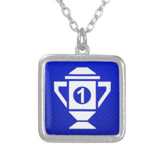 1r trofeo del lugar del azul joyerias personalizadas
