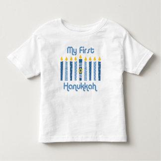 1r Velas de Jánuca Playera De Bebé