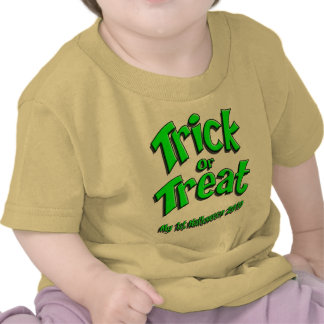 1r Verde 2010 de Halloween Camiseta