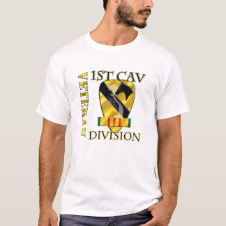 1r VETERANO de Cav DIV VIETNAM Playera