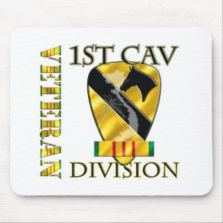 1r Veterano de Vietnam de la división de la caball Alfombrillas De Raton