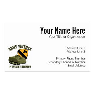 1r Veterinario de Cav - M113 APC Tarjetas De Visita