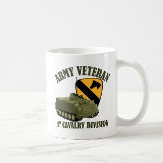 1r Veterinario de Cav - M113 APC Taza Básica Blanca