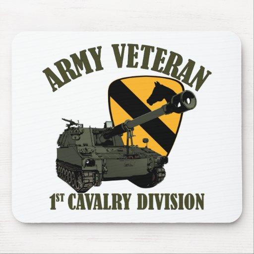 1r Veterinario de Cav - obús M109 Alfombrillas De Raton