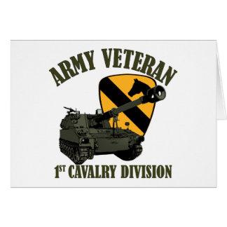 1r Veterinario de Cav - obús M109 Tarjeta Pequeña