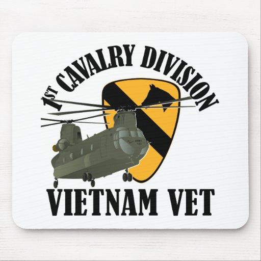 1r Veterinario de Cav Vietnam - CH-47 Alfombrillas De Raton