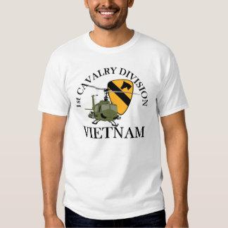 1r Veterinario de Cav Vietnam Remera