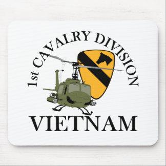 1r Veterinario de Cav Vietnam Alfombrillas De Raton
