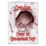 1ra abuela feliz del día de los abuelos - niña felicitacion