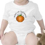 1ra calabaza de Halloween del bebé Camiseta