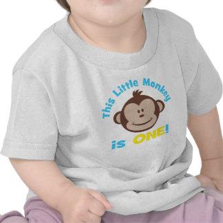 1ra camisa del cumpleaños de los pequeños de la MO