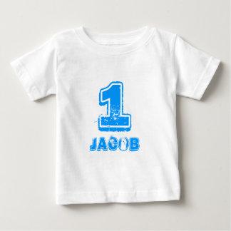 1ra camiseta del cumpleaños de Babys para un Camisas