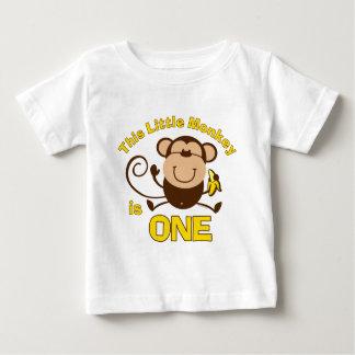 1ra camiseta del niño del muchacho del cumpleaños playera
