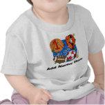 1ra camiseta personalizada del cumpleaños de All S