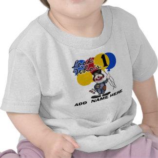 1ra camiseta personalizada del cumpleaños del paya