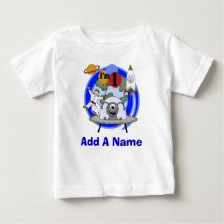 1ra camiseta personalizada del cumpleaños del playera