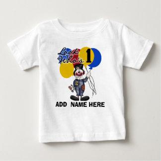 1ra camiseta personalizada del cumpleaños del playeras