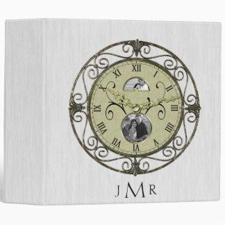 1ra carpeta del aniversario de boda del reloj de c