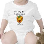 1ra enredadera personalizada de Halloween de la ca Camiseta