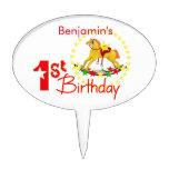 1ra fiesta de cumpleaños del caballo mecedora figura para tarta