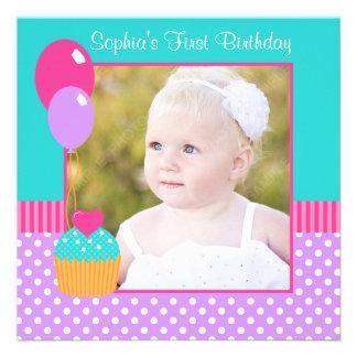 1ra foto del cumpleaños de la magdalena del chica invitacion personal