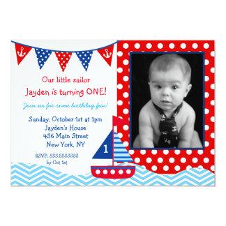 1ra invitación de la fiesta de cumpleaños del