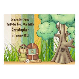 1ra invitación del cumpleaños de la tortuga del