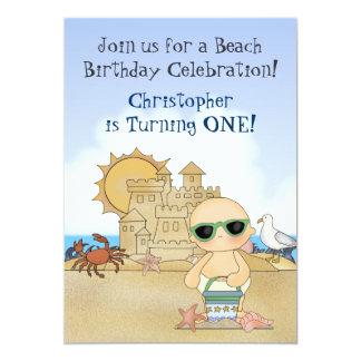 1ra invitación del cumpleaños de los bebés frescos