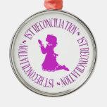 1ra reconciliación - primera confesión (chica) ornamento de reyes magos