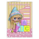 1ra tarjeta de cumpleaños de la bisnieta