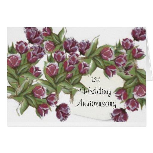 1ra tarjeta del aniversario