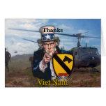1ra tarjeta del nam de Vietnam del cav del aire de