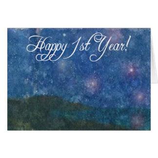 1ra tarjeta feliz de la sobriedad del año