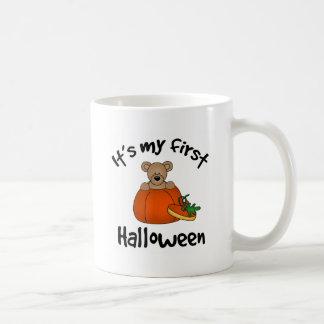 1ra taza de Halloween del bebé