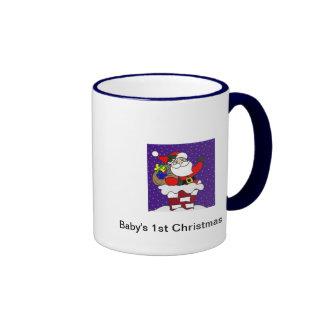 1ra taza del navidad del bebé