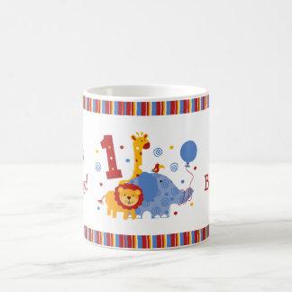 1ra taza del personalizado del cumpleaños del safa