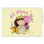 1ras camisetas del cumpleaños de princesa All Abou Felicitación