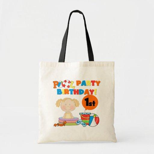 1ras camisetas y regalos del cumpleaños de la fies bolsa de mano