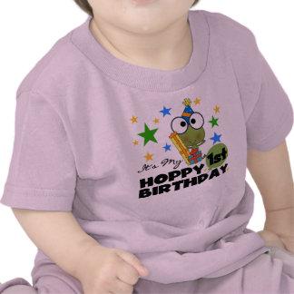 1ras camisetas y regalos del cumpleaños de la rana
