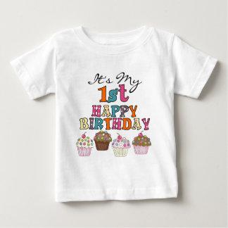 1ras camisetas y regalos del cumpleaños de las playeras