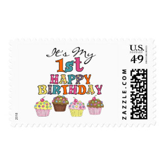 1ras camisetas y regalos del cumpleaños de las sellos