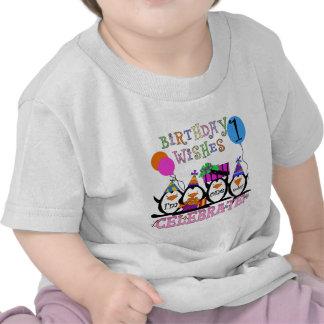 1ras camisetas y regalos del cumpleaños de los pin