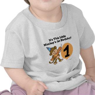1ras camisetas y regalos del cumpleaños del pequeñ