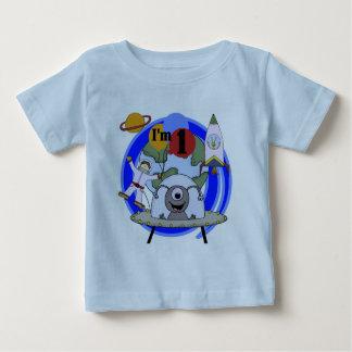 1ras camisetas y regalos del cumpleaños del playera para bebé