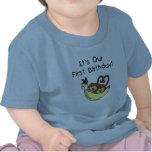 1ras camisetas y regalos del mono del cumpleaños d