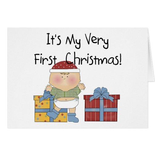 1ras camisetas y regalos del navidad del muchacho  felicitaciones