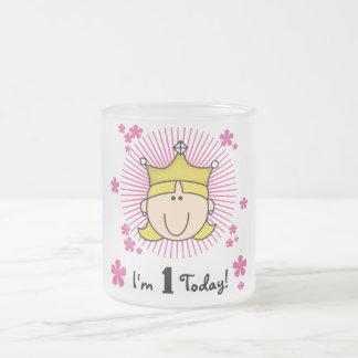 1ras cumpleaños camisetas y regalos de la princesa taza de café