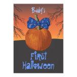 1ras invitaciones del fiesta de Halloween de los Comunicados Personalizados